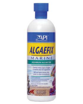 Aquarium Pharmaceuticals Algaefix Marine 16 Oz.