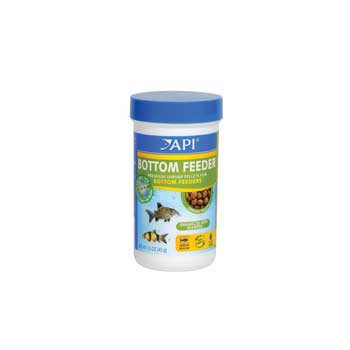 Aquarium Pharmaceuticals Api Bottom Feeder Shrimp Pellet 1.5 Oz.