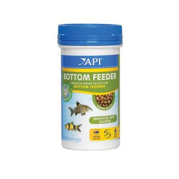 Aquarium Pharmaceuticals Api Bottom Feeder Shrimp Pellet 4 Oz.