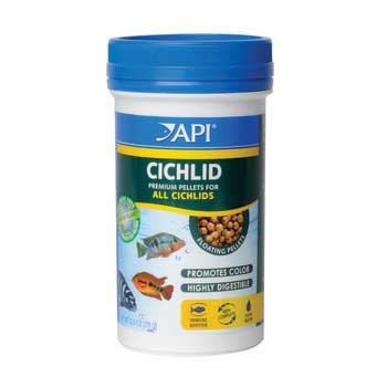 Aquarium Pharmaceuticals Api Cichlid Medium Pellet 2.5 Oz