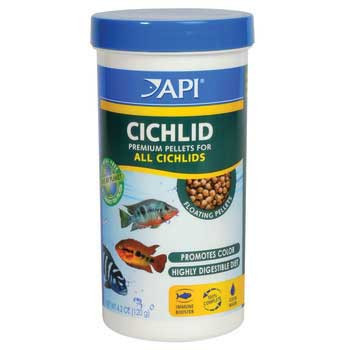 Aquarium Pharmaceuticals Api Cichlid Medium Pellet 4.2 Oz