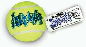 Kong Airdog Squeakair Tennis Ball Medium