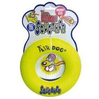 Kong Airdog Squeaker Donut Small