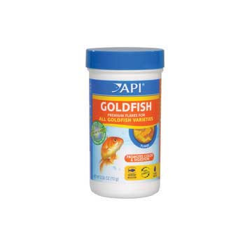 Aquarium Pharmaceuticals Api Goldfish Flake .36 Oz
