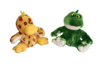 Kong Unstuffed Frog With Squeaker Small