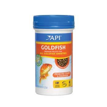 Aquarium Pharmaceuticals Api Goldfish Pellet 4.0 Oz