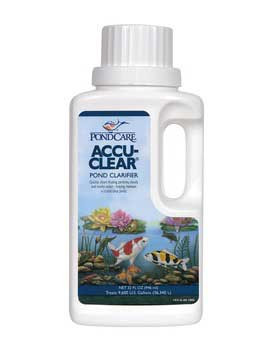 Aquarium Pharmaceuticals Pondcare Accu-clear 32 Oz.