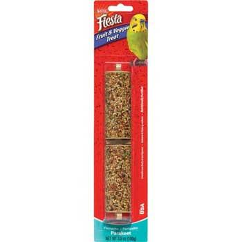Kaytee Fiesta Parakeet Fruit Veggie Stick 3.5oz