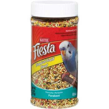 Kaytee Fiesta Parakeet Tropical Fruit Jar 11oz