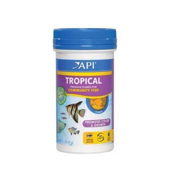 Aquarium Pharmaceuticals Api Tropical Flake 1.1 Oz