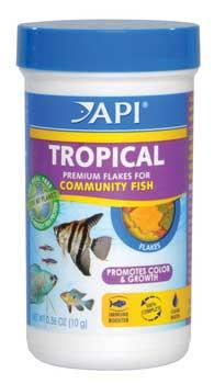 Aquarium Pharmaceuticals Api Tropical Flake .36 Oz