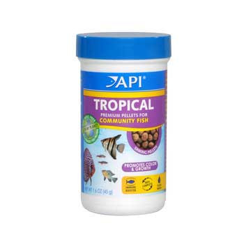 Aquarium Pharmaceuticals Api Tropical Pellet 1.6 Oz