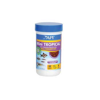 Aquarium Pharmaceuticals Api Tropical Mini Pellet 1.7 Oz