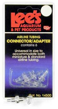 Lee's Airline Connectors/adapters 6pc
