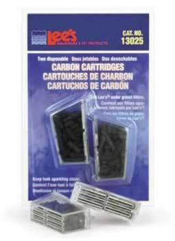 Lee's Carbon Cartridge Disposable 2pk