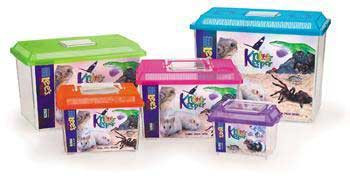 Lee's Kritter Keeper Large Rectangle W/lid Label 1pk