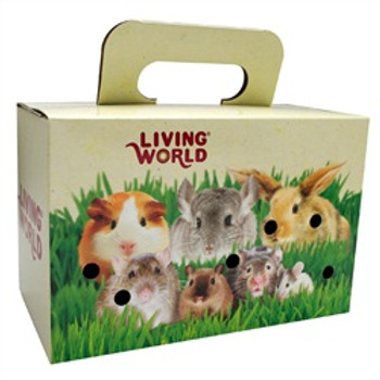 Living World Pet Carrier 10-7/8 X 6 X 7 {requires 3-7 Days before shipping out}