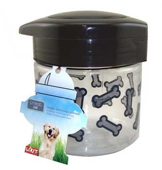 Lixit Medium Dog Treat Jar Container 64oz