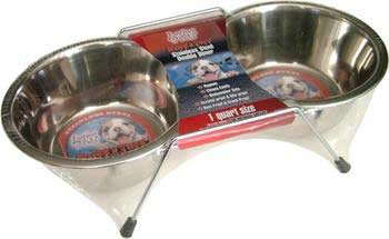 Loving Pets Double Diner Stainless Steel Pt.