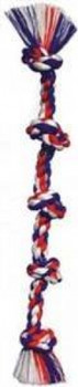 Mammoth Pet Products Cottonblend Color 5 Knot Rope Tug X-large 36in