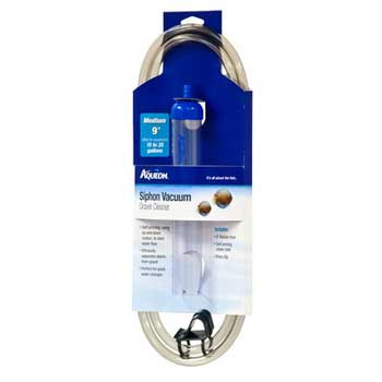 Aqueon Siphon Vacuum Gravel Clearer Medium 9in