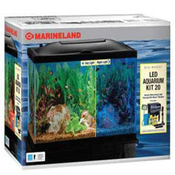 Marineland Deluxe Bio-wheel Led Aquarium Kit 20 Gal SD-X NO shipping