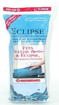 Marineland Eclipse Filtration Systems Filter Cartridge Rite-size G 3pk