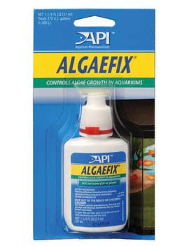 Aquarium Pharmaceuticals Algae Fix 1 -1/4 Oz. Card