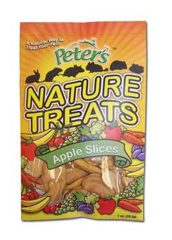 Marshall Pet Peters Natural Treats - Apple Slices 1 Oz.