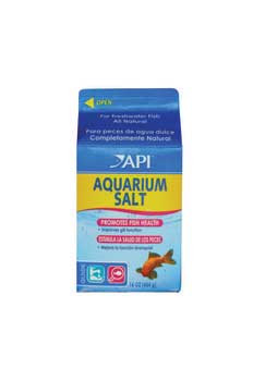 Aquarium Pharmaceuticals Aquarium Salt 16 Oz. 1 Pint Milk Carton
