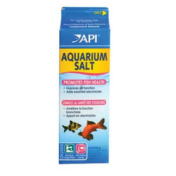 Aquarium Pharmaceuticals Aquarium Salt 33 Oz. 1 Quart Milk Carton