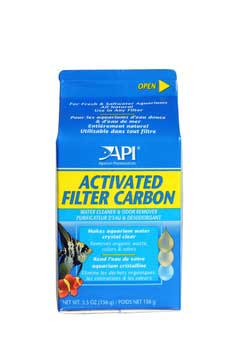 Aquarium Pharmaceuticals Api Activated Filter Carbon 5.5oz Box