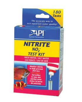 Aquarium Pharmaceuticals Fresh/salt Nitrite Mini Test Kit