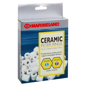 Marineland Ceramic Filter Rings C-series Canister Filter Rite-size S & T 140pc