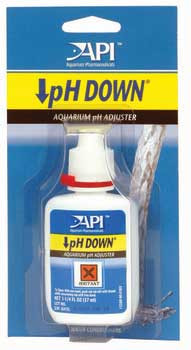 Aquarium Pharmaceuticals Api Ph Down Carded 1.25oz Bottle
