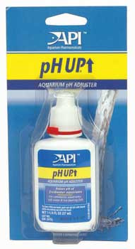 Aquarium Pharmaceuticals Api Ph Up 1.25oz Bottle On Card