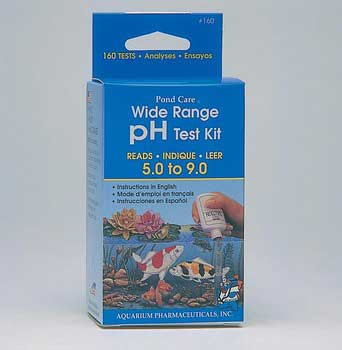 Aquarium Pharmaceuticals Pondcare Ph Liquid Test Kit