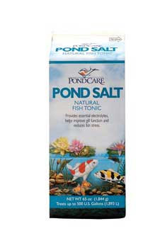 Aquarium Pharmaceuticals Pondcare Salt 65 Oz.