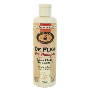 Natural Chemistry Deflea Shampoo Cat 8 Oz.