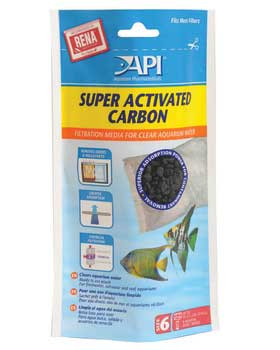 Aquarium Pharmaceuticals Api Super Activated Carbon Pouch Size 6