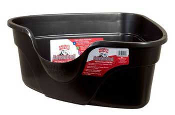Natures Miracle Just For Cats Advanced High Sided Corner Litter Box Extra Large