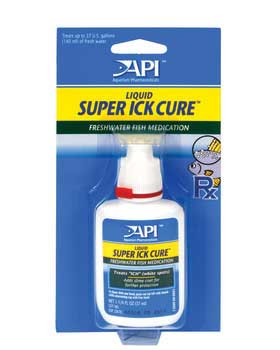 Aquarium Pharmaceuticals Api Super Ick Cure Carded 1.25oz Bottle