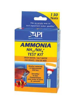 Aquarium Pharmaceuticals Fresh/saltwater Ammonia Test Kit