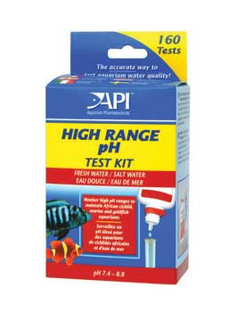 Aquarium Pharmaceuticals Freshwater Ph Hi-range Mini Test Kit