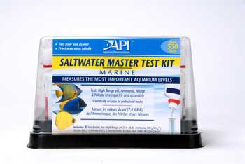 Aquarium Pharmaceuticals Saltwater Master Liquid Test Kit