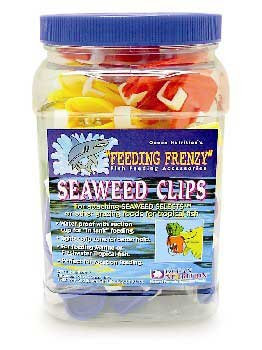 Ocean Nutrition Feeding Frenzy Seaweed Clip 36 Pc. Jar