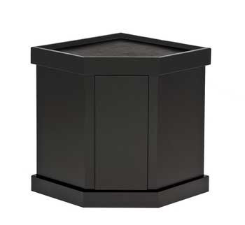 Marineland Majesty Stand Pentagon Black 44 gallonFree In Store Pick Up Or Special Truck Freight Shipping Calulated Off Line.