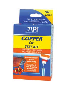Aquarium Pharmaceuticals Fresh/saltwater Copper Test Kit