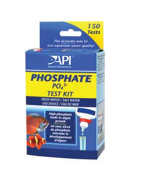Aquarium Pharmaceuticals Freh/saltwater Phosphate Test Kit