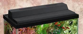 Perfecto Marineland Recessed Full Hood Black Fluorescent 20in